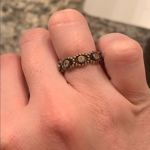 Pandora Jewelry - Pandora Her Majesty Pink Ring